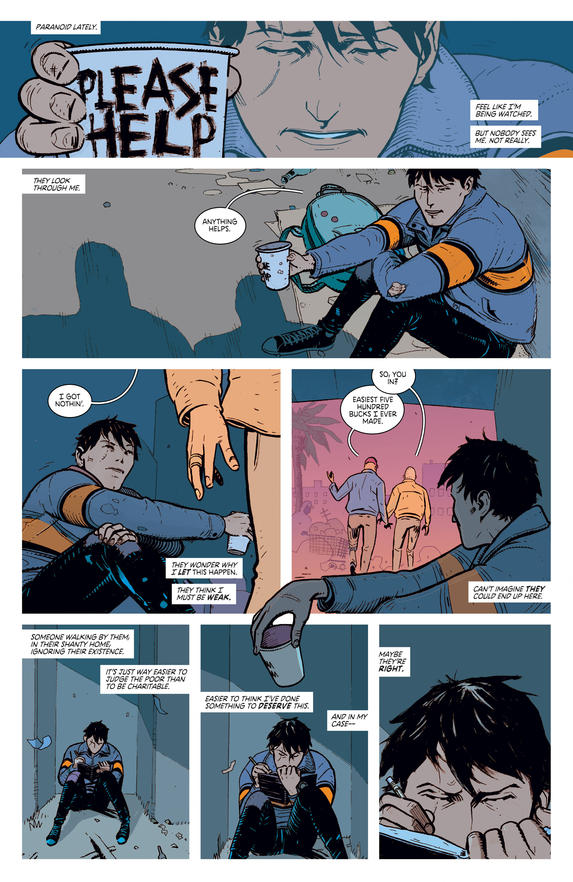 Read online Deadly Class comic -  Issue #1 - 4