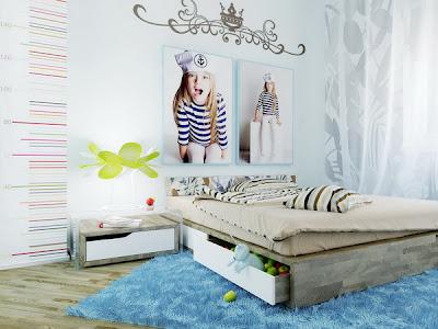 quarto de casal jovem