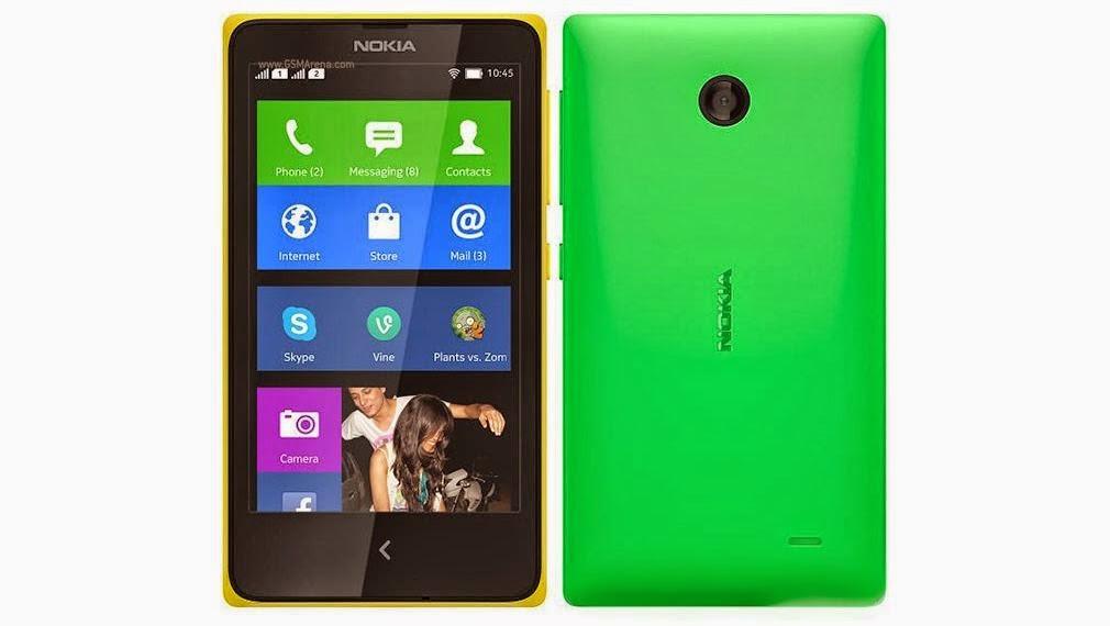 ... menggunakan Jelly Bean 4.1) hanya tertulis Nokia X software platform
