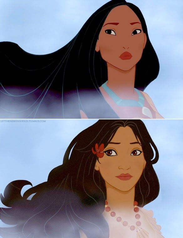 Princesas Disney, Princesas, princesas populares, princesas de otra cultura, casa real, aristocracia, disneyland, disneyland paris, disneyland orlando, pixar, pocahontas