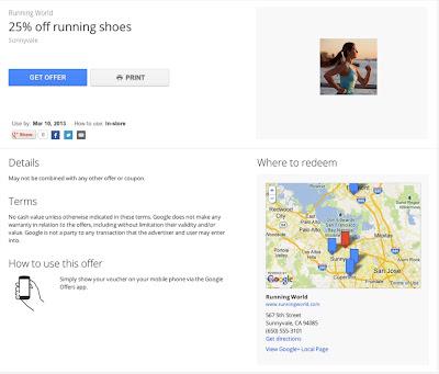 Offer details example on desktop