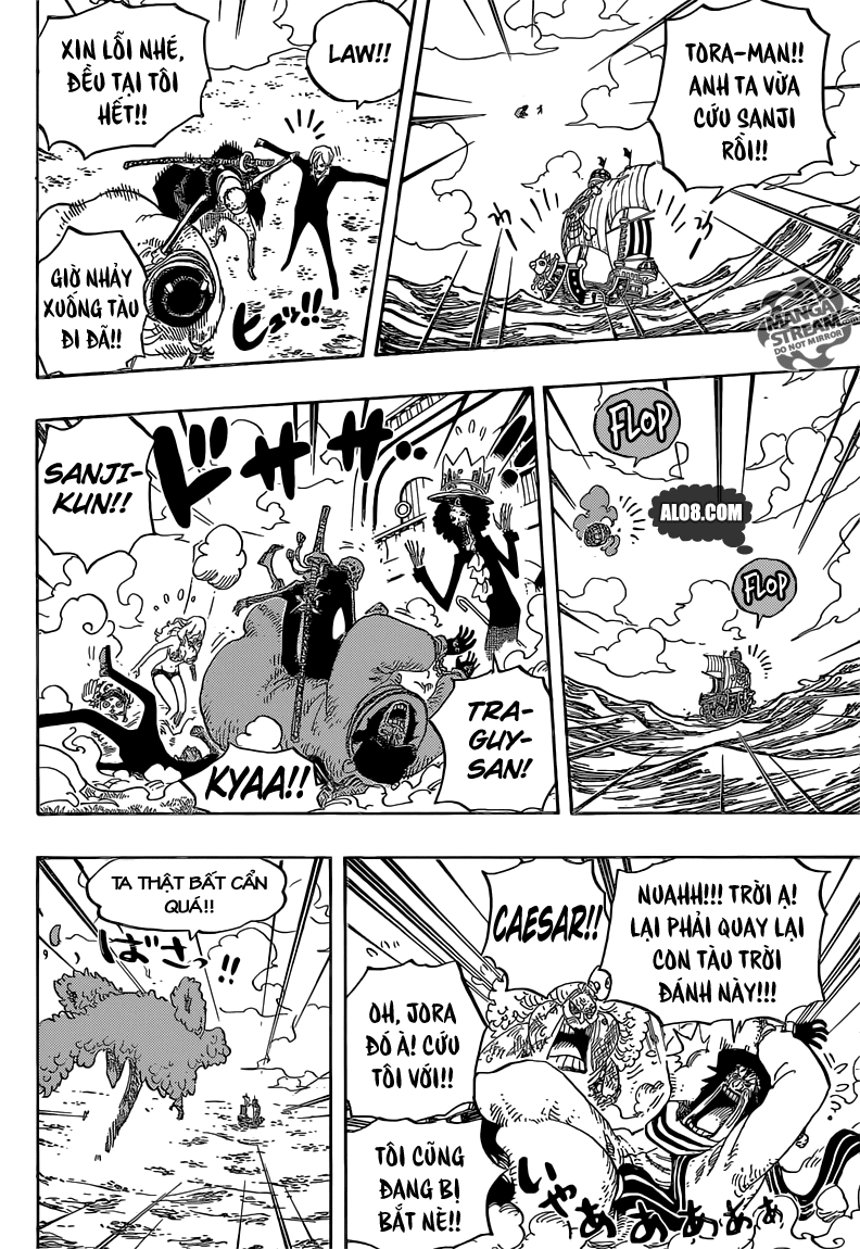 One Piece Chapter 724: Chiến thuật của Law 010