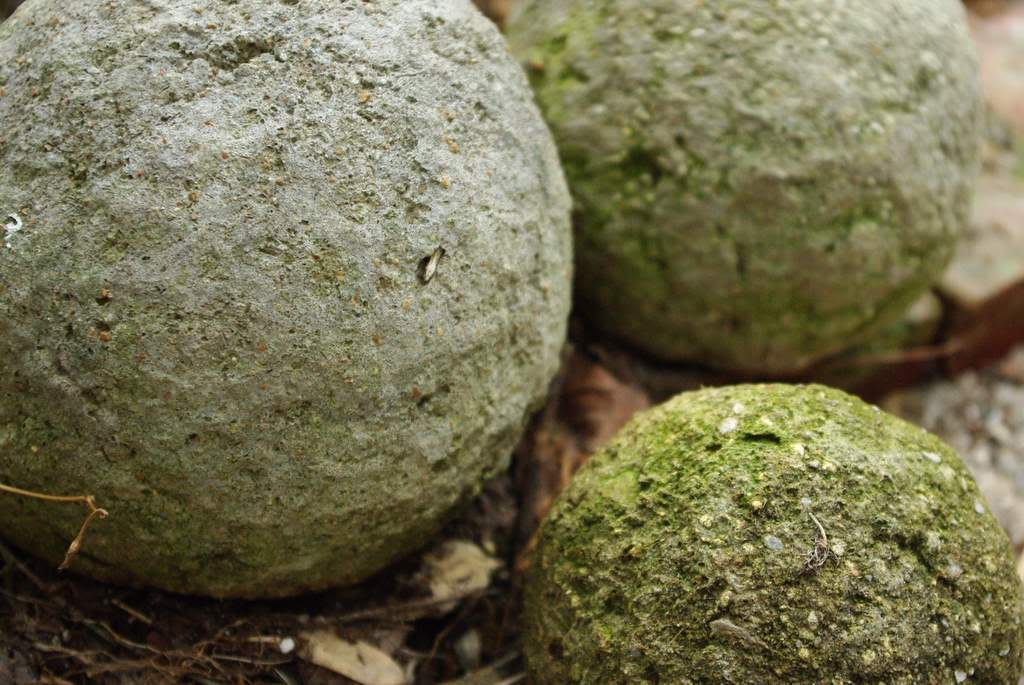 Cement Peat Moss : Junque in the trunk how to make hypertufa garden balls