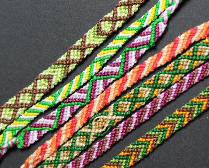 mit diesen zwei knoten knnen unterschiedlichste muster geknft werden - Armband Knupfen Muster