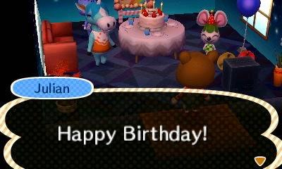 Animal Crossing New Leaf - Halloween & My Birthday