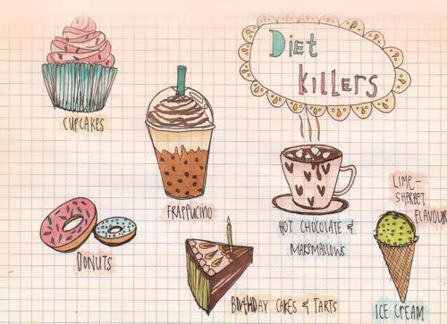 5 erros quando se faz dieta