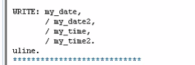 Date and Time Fields in SAP TABLES