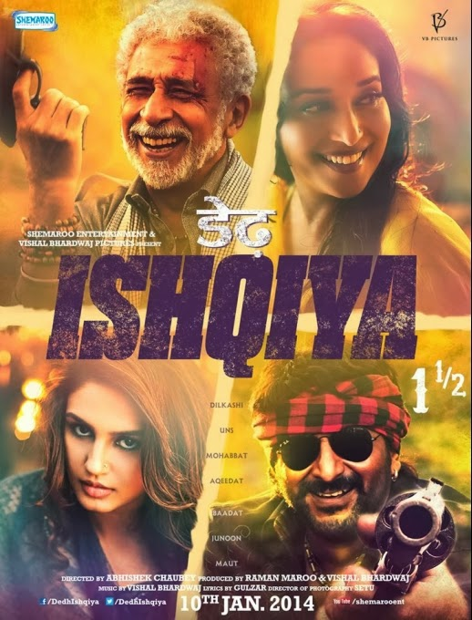 Dedh Ishqiya, Movie Poster, Directed by Abhishek Chaubey