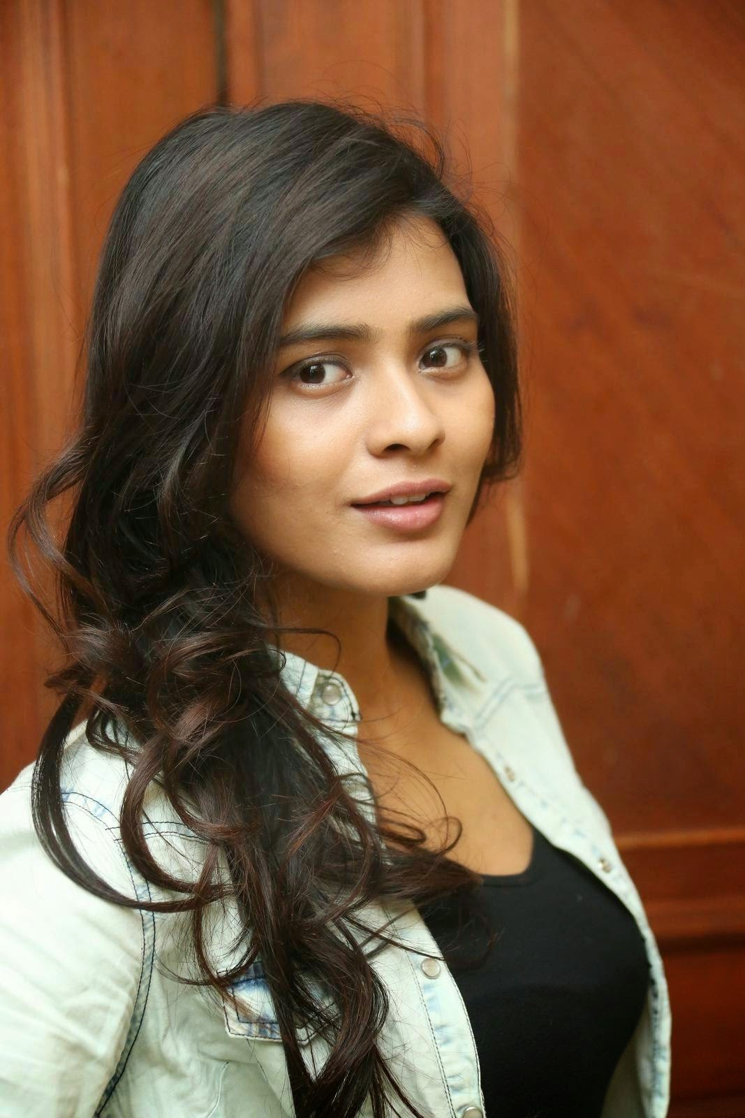 Hebah Patel Lovely Black Figure hugging Dress Jacket at Ala Ela movie 30 Days Event