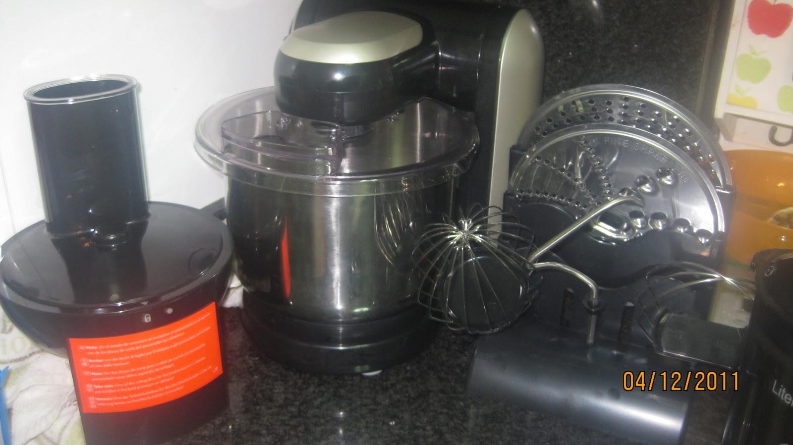 Recetas de cocina casera mi nuevo robot de cocina for Robot cocina lidl opiniones