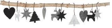 Oohh granar, gran med stjärna, granar med stjärnor, vitt, grått, metallic, guld, silver, julpynt, julen 2015, juldekorationer, juldekoration, webbutik, webbutiker, webshop, nettbutikk, nettbutikker, dansk design, danska produkter, danskt, danmark, annelies design, girlang, girlanger, renar, ren, hjärta, hjärtan, stjärnor, interior, inredning, inredningsdetaljer, inspiration,