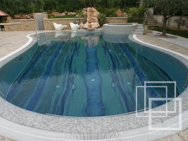 I love natural stone natuursteen en zwembaden - Strand zwembad natuursteen ...