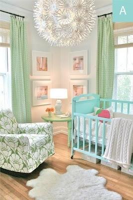 Dormitorio bebé alegre y colorido