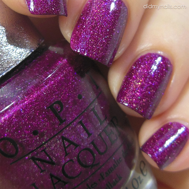 OPI DS Extravagance swatch