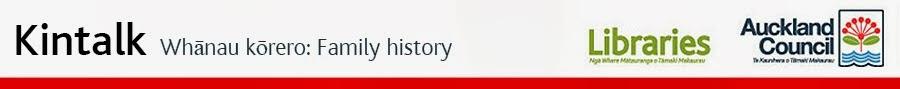 Kintalk Whānau Kōrero: Family history blog