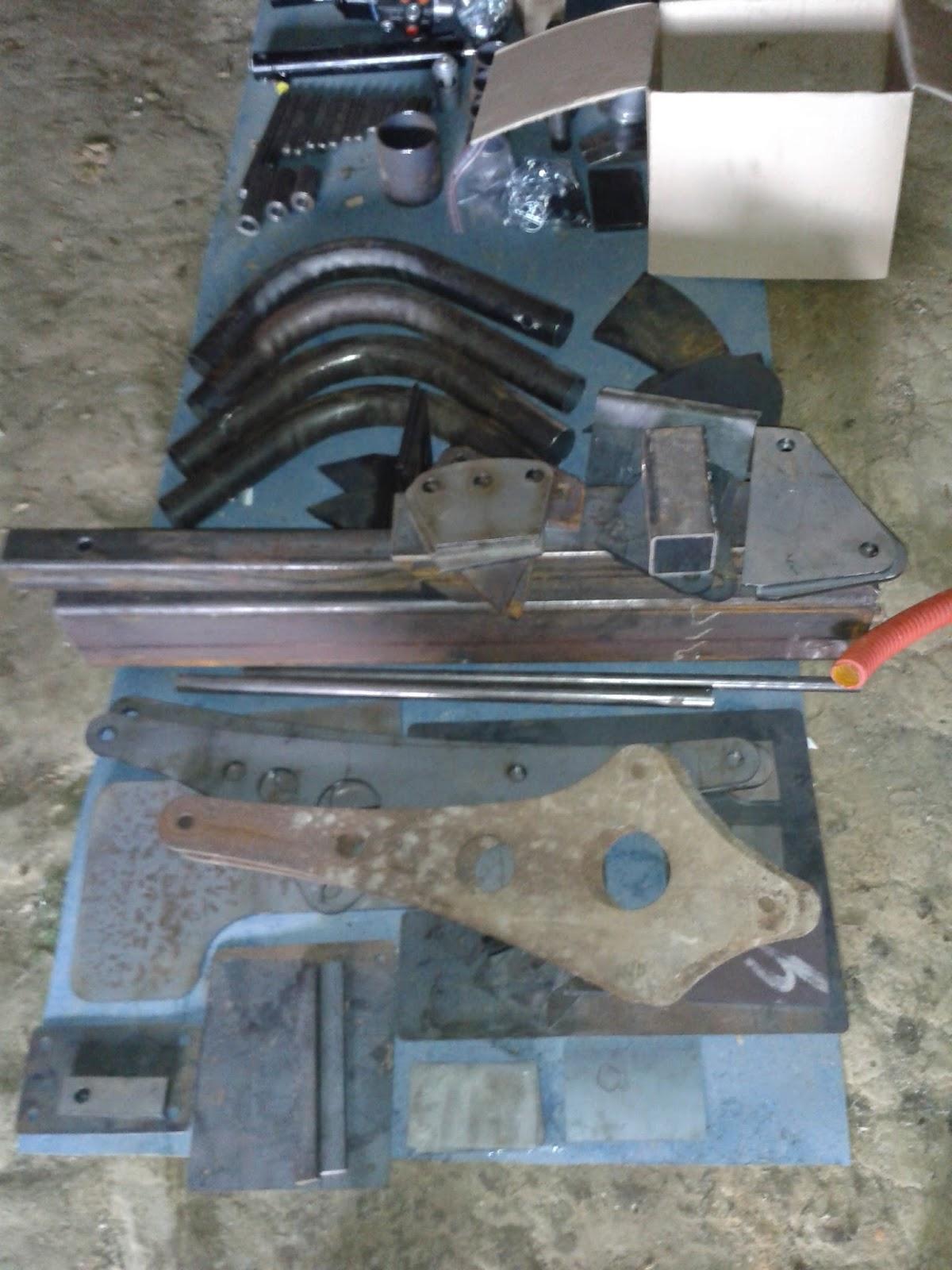 kit métal hydraulique