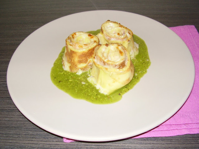 crepes gratinate