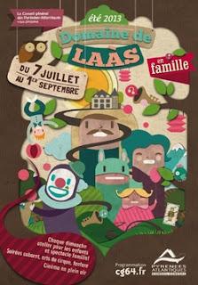 été 2013 au Domaine de #Laàs #béarn #spectacle