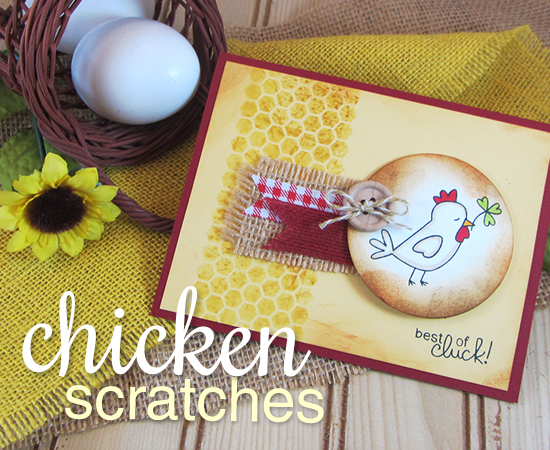 Best of Cluck Card | Chicken Scratches stamp set by Newton's Nook Designs