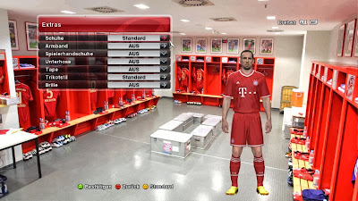 PES 2014 Locker Room Bayern Munchen by Ron69