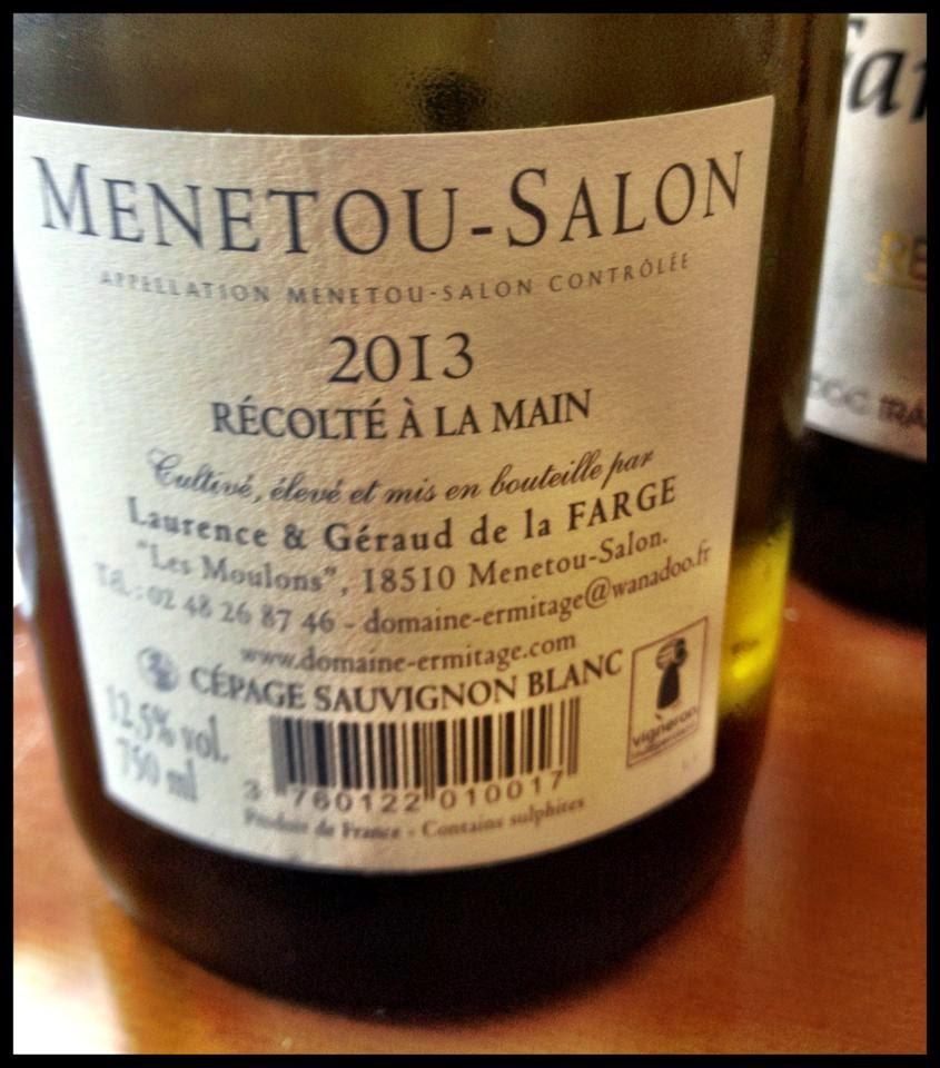 El alma del vino domaine de l ermitage sauvignon blanc 2013 - Menetou salon domaine de l ermitage ...