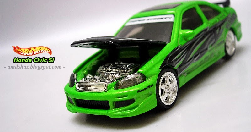 Shaz S Suka Suka Blog 100 Hotwheels Honda Civic Si