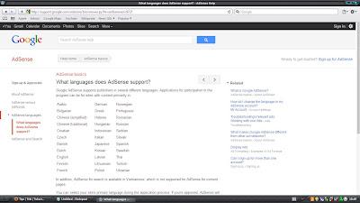 Google, Adsense, Resmi, support, Bahasa, Indonesia, 2012, februari, sudah, telah, opa-ma.blogspot.com, kapan, sekarang, G, A, GA,