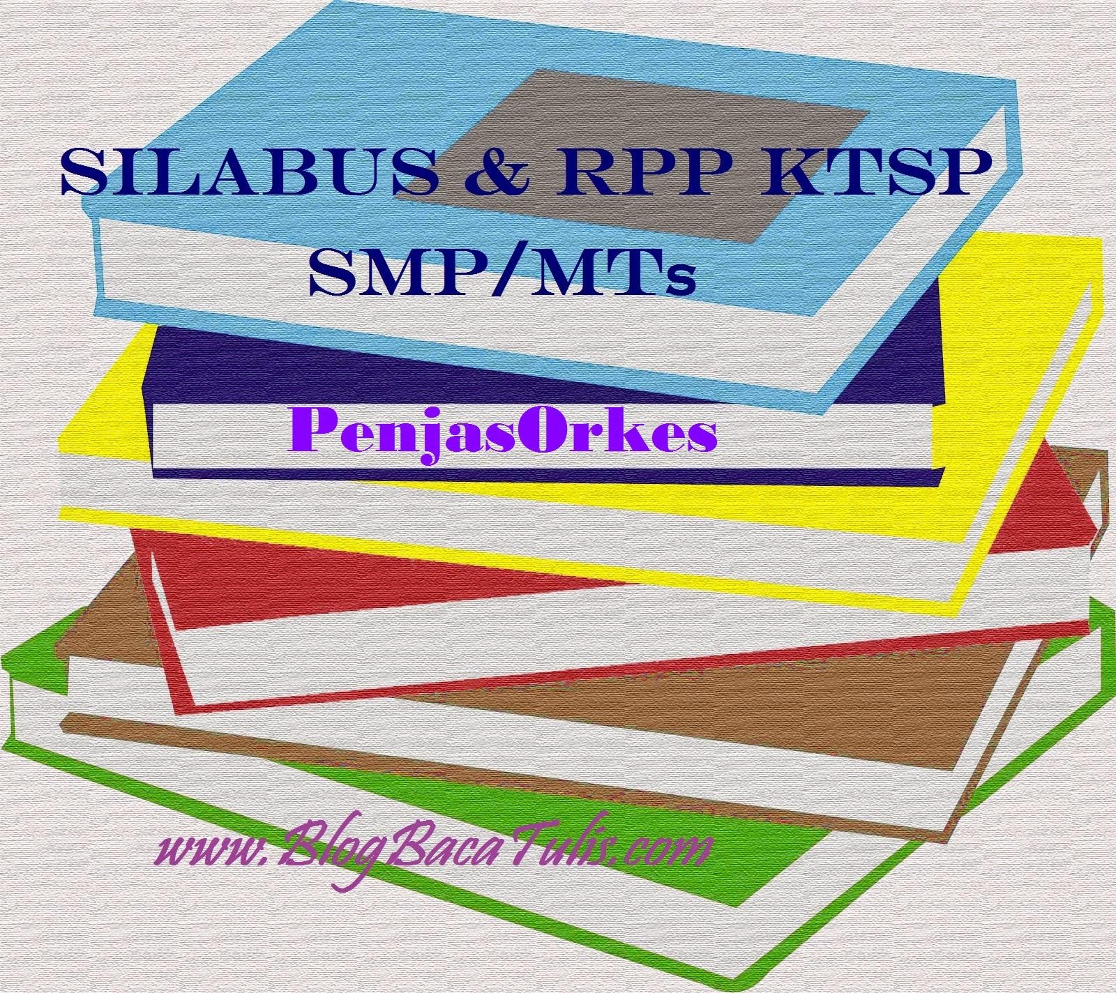 Dowload Silabus RPP KTSP SMP/MTs Mata Pelajaran Penjasorkes