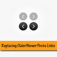 replace older newer posts