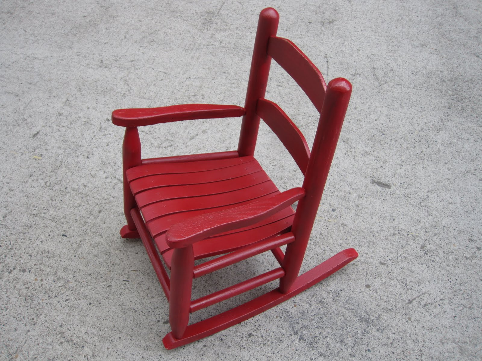 Little Red Rocking Chair ~ Portobello road little red rocking chair