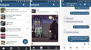 BBM MOD Instagram Themes Series V2.9.0.51