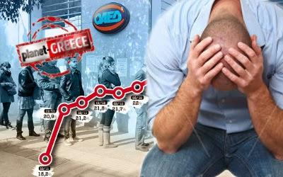 """""""Πρωταθλήτρια"""" και πάλι στην ανεργία η Ελλάδα"""