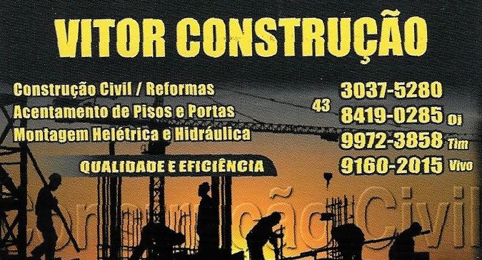 Vitor Construção