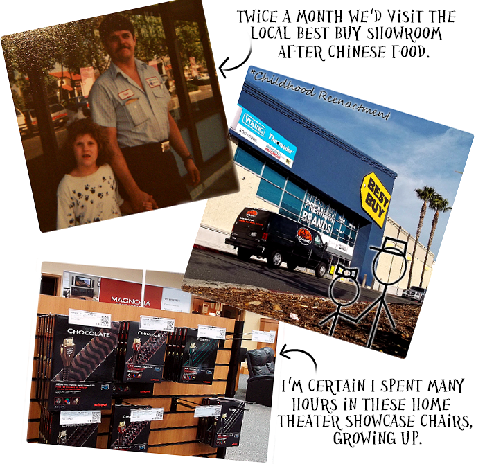 Even as a child, my dd would tke me to Best Buy to find the hottest deals on new technology. #GreatestDad
