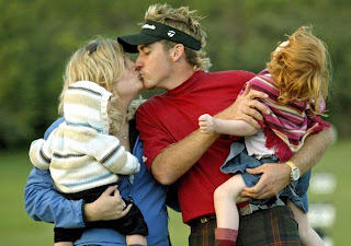 Ian Poulter With His Beautiful Wife Katie Poulter And Cute Childrens In These Pictures.