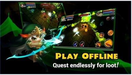 Game Rpg Offline Terbaik Android Dungeon Quest Mod Apk Miftatnn