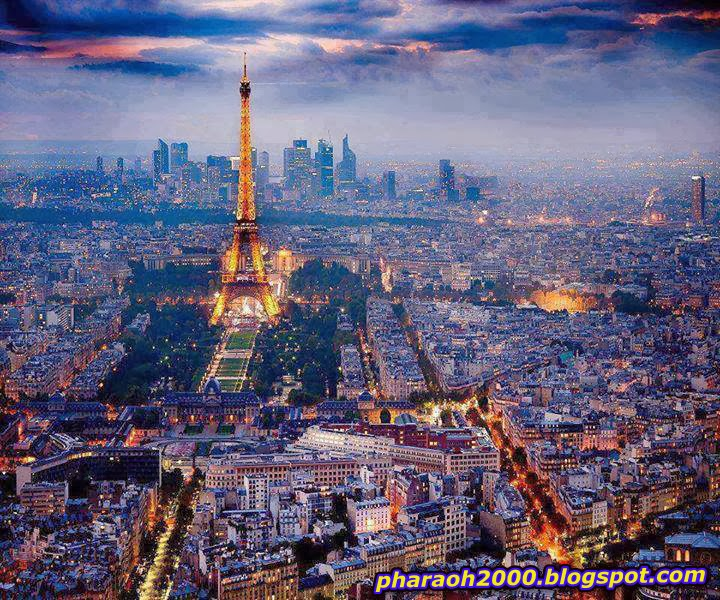 Beautiful view of Paris, France