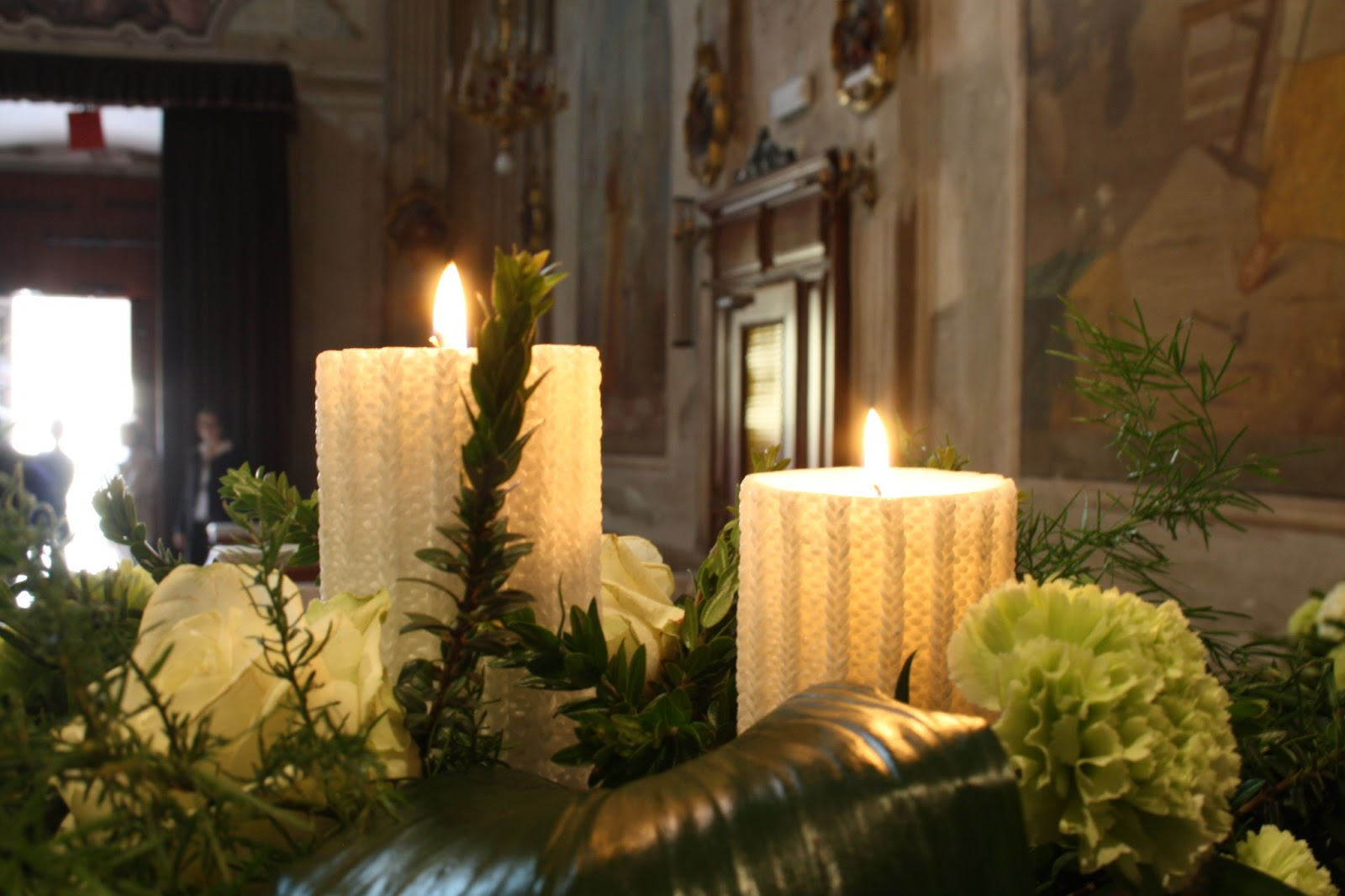 Matrimonio in lombardia l 39 allestimento floreale del - Come addobbare la casa della sposa il giorno del matrimonio ...