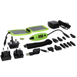 Powertraveller Powermonkey Explorer Solar Portable Charger, Luminous