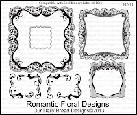 ODBD Stamps, Romantic Floral Designs