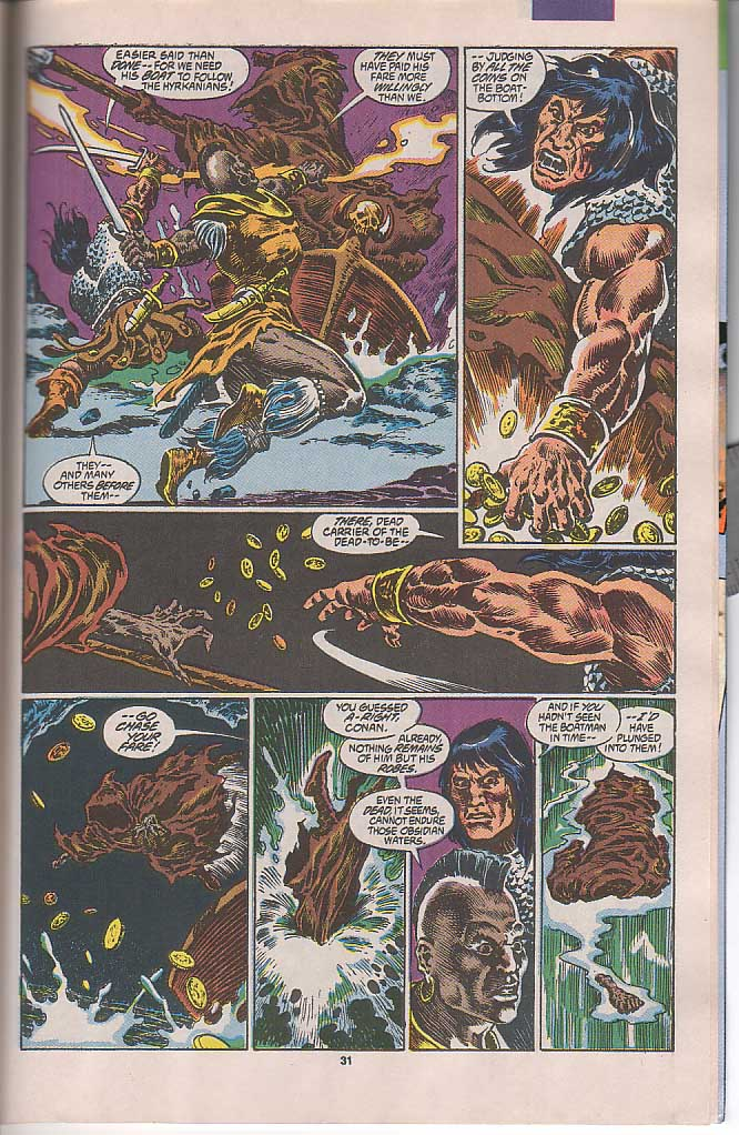 Conan the Barbarian (1970) Issue #250 #262 - English 25