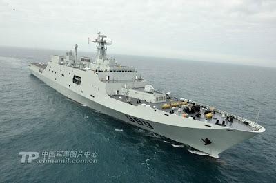 China hantar kapal perang ke perairan Syria