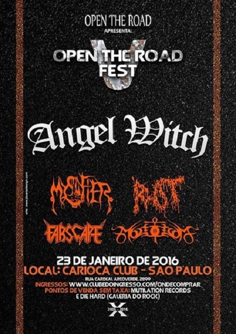 23-01-2015 - V OPEN THE ROAD FEST - São Paulo - SP