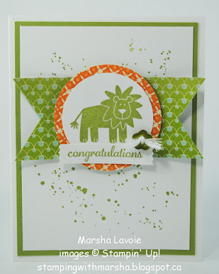 wild about you stampin up, express yourself, gorgeous grunge
