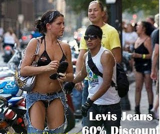 Discount on Levis Jeans