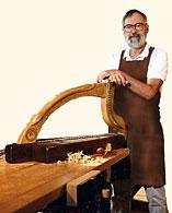 David Kortier harp maker