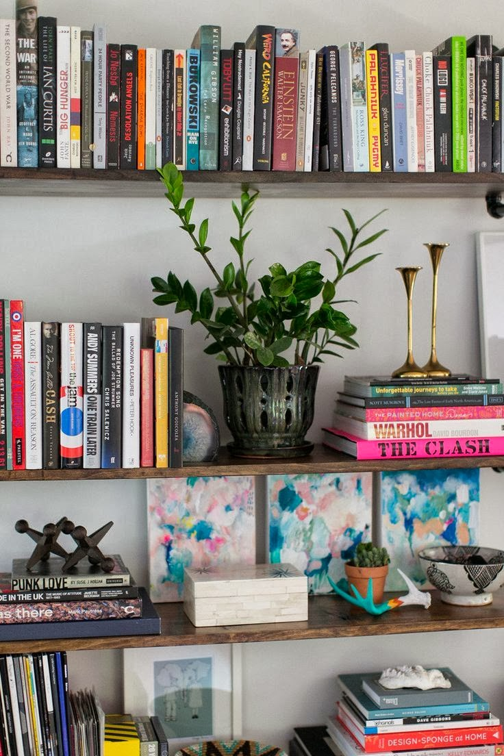 design by chana secrets to styling a bookshelf