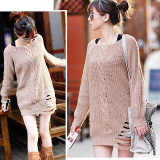 Sweater Cwek korea