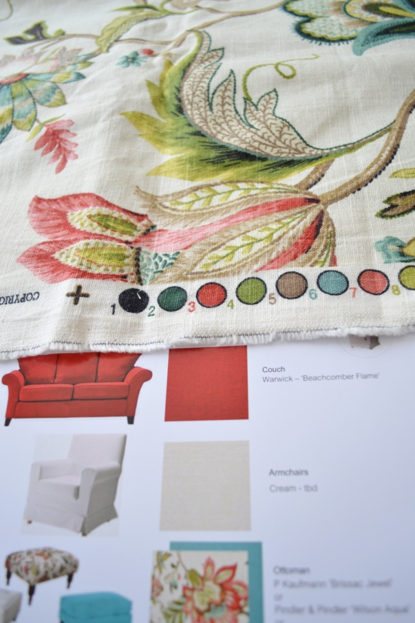 Interior Design Fabric Samples Five Kinds Of Happy