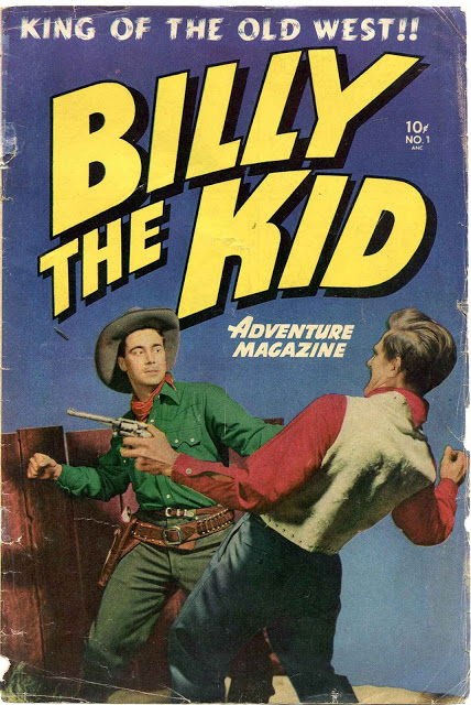 Billy the Kid Adventure Magazine #01-#26, #28-#29 (1950-1955) Toby/Minoan